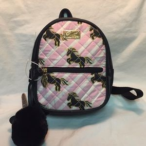 NWT Betsey Johnson mini backpack